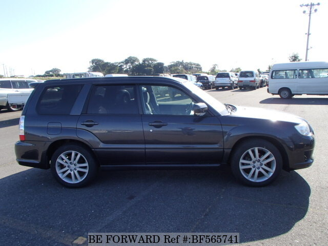 Used 2007 Subaru Forester Cross Sports 2 0i Cba Sg5 For Sale Bf565741 Be Forward