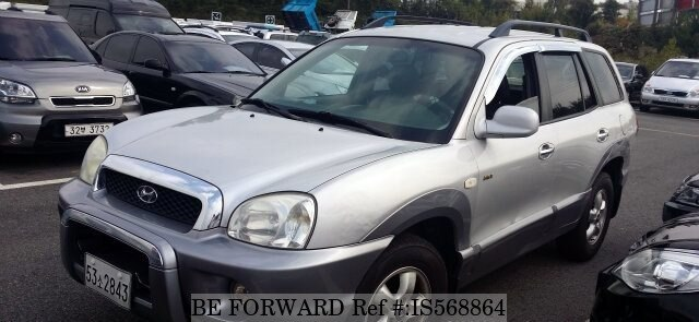 Used 2005 HYUNDAI SANTA FE IS568864 For Sale