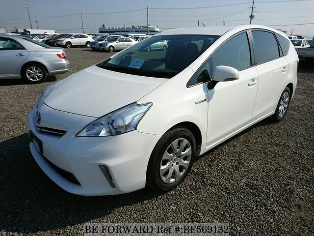 used 2012 toyota prius alpha daa zvw41w for sale bf569132 be forward. Black Bedroom Furniture Sets. Home Design Ideas