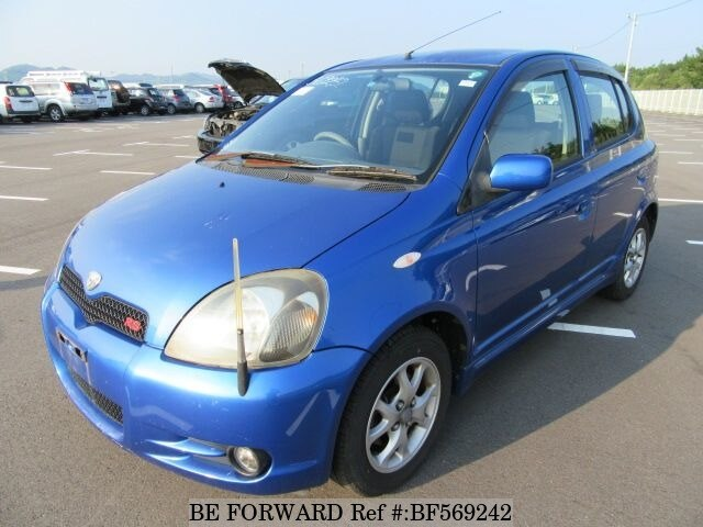 Used 2001 TOYOTA VITZ RSTANCP10 for Sale BF569242  BE FORWARD