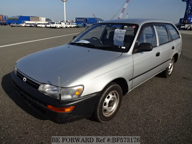Used 1993 TOYOTA COROLLA VAN DX/R-EE106V for Sale BF573176 - BE FORWARD