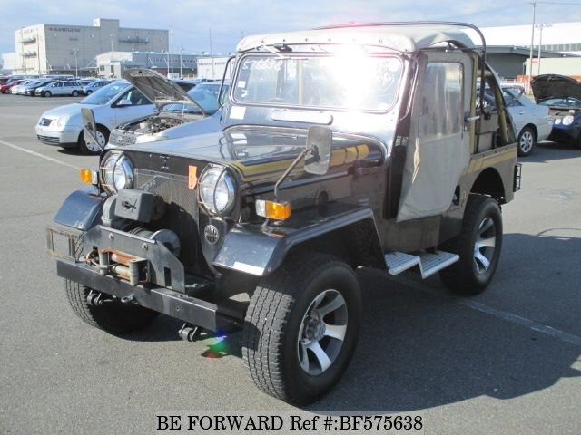 Used 1986 Mitsubishi Jeep N J54 For Sale Bf575638 Be Forward