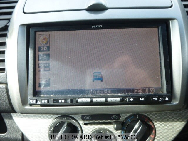 used 2008 nissan note 15x plus navi hdd /dba-e11 for sale bf575863