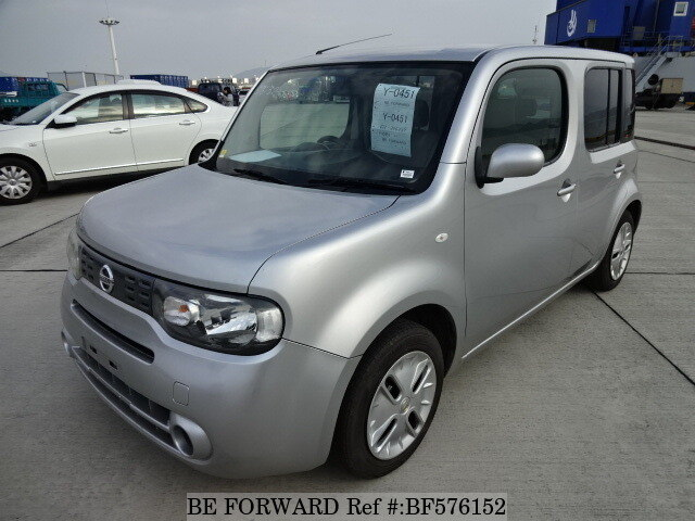 used 2012 nissan cube 15x dba z12 for sale bf576152 be forward. Black Bedroom Furniture Sets. Home Design Ideas
