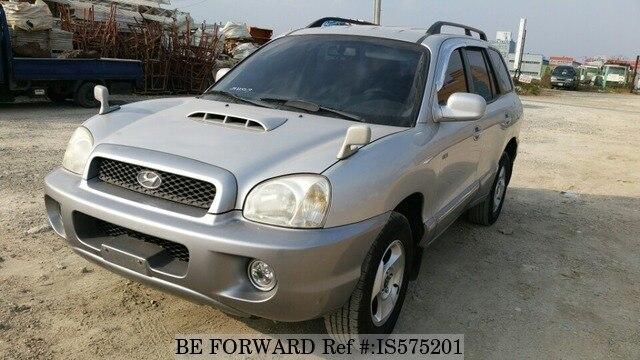 Used 2002 HYUNDAI SANTA FE IS575201 For Sale