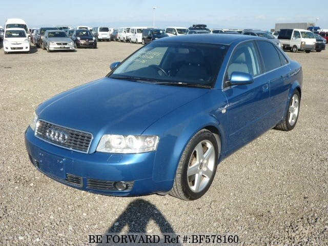 Used 2001 Audi A4 Quattro Sports Gf 8easnf For Sale Bf578160 Be Forward