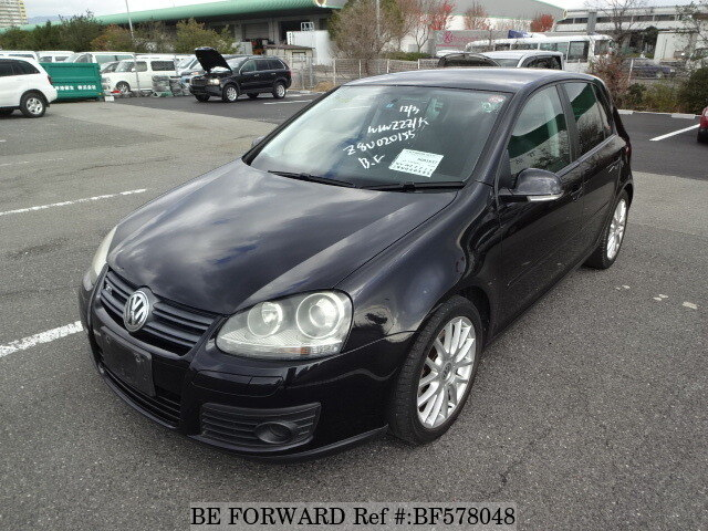 Used 2008 VOLKSWAGEN GOLF GT TSI/ABA-1KBLG for Sale BF578048