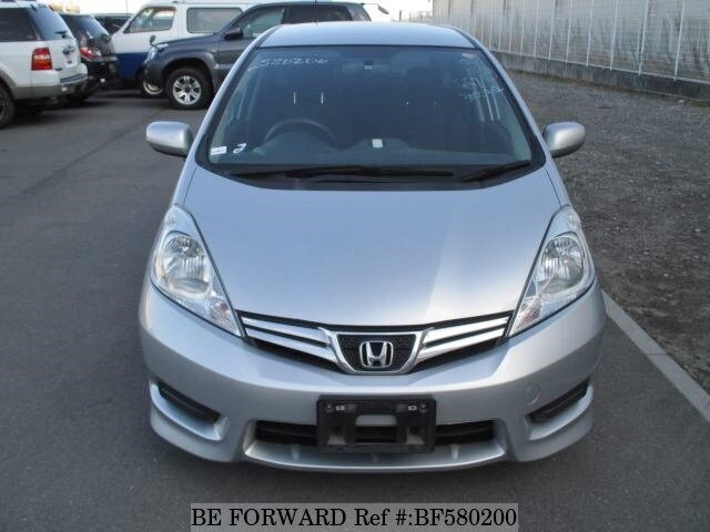 Used 2011 Honda Fit Shuttle 15c Dba Gg7 For Sale Bf580200 Be Forward