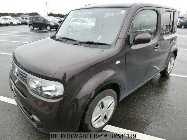 Used 2009 Nissan Cube 15xdba Z12 For Sale Bf581149 Be Forward