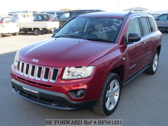 used 2012 jeep compass limited/aba-mk49 for sale bf581351 - be forward