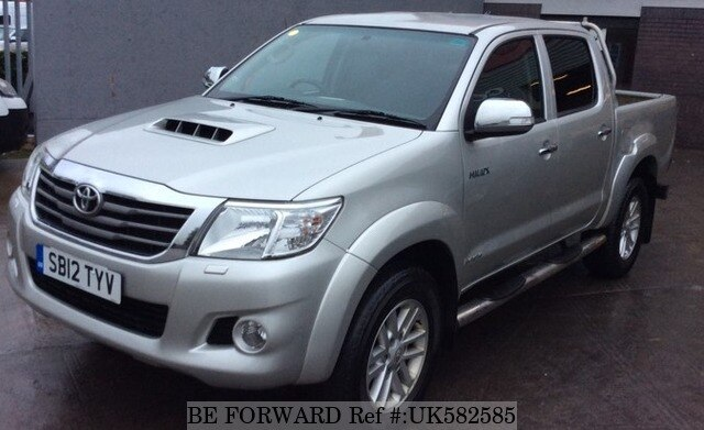 Used 2012 Toyota Hilux 3 0d 4d For Sale Uk582585 Be Forward