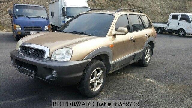 Used 2000 HYUNDAI SANTA FE BF830774 For Sale Image ...