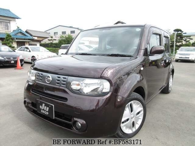 used 2009 nissan cube dba z12 for sale bf583171 be forward. Black Bedroom Furniture Sets. Home Design Ideas