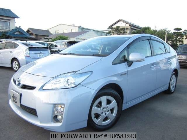 used 2009 toyota prius daa zvw30 for sale bf583243 be forward. Black Bedroom Furniture Sets. Home Design Ideas
