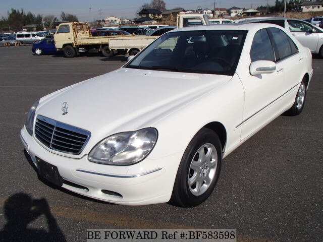 Used 2002 mercedes benz s class s320 gf 220065 for sale for Mercedes benz 2002 s500 for sale