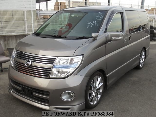 Used 2009 NISSAN ELGRAND 250 HIGHWAY STAR/CBA-ME51 for Sale BF583984