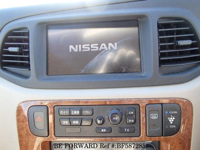 used 2004 nissan liberty ua rm12 for sale bf587285 be forward rh beforward jp Nissan Altima Navigation Nissan In -Dash Navigation System