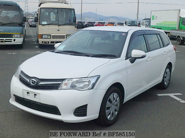 Used 2012 TOYOTA COROLLA FIELDER BF585150 for Sale