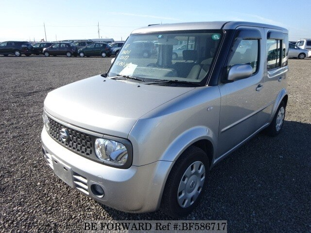 2007 nissan cube 14s four dba bnz11 d 39 occasion en promotion bf586717 be forward. Black Bedroom Furniture Sets. Home Design Ideas