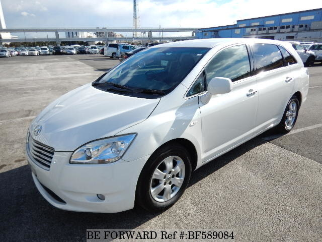 Used 2008 TOYOTA MARK X ZIO 240F/DBA-ANA10 for Sale BF589084 - BE