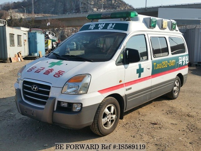 Used 2007 HYUNDAI STAREX AMBULANCE HIGH ROOF for Sale