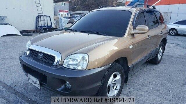 Used 2003 HYUNDAI SANTA FE IS591473 For Sale