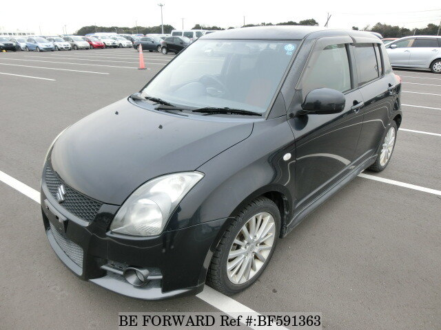2005 suzuki swift sport cba zc31s d 39 occasion en promotion bf591363 be forward. Black Bedroom Furniture Sets. Home Design Ideas