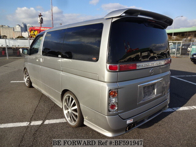 Used 2005 NISSAN ELGRAND RIDER/CBA-E51 for Sale BF591947 - BE FORWARD