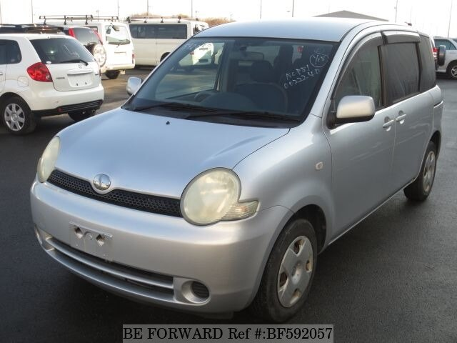 Used 2003 TOYOTA SIENTA BF592057 for Sale