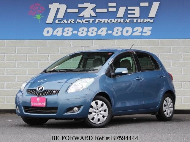 Used 2010 TOYOTA VITZDBANCP91 for Sale BF594444  BE FORWARD