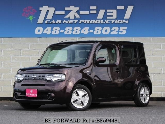 used 2010 nissan cube dba z12 for sale bf594481 be forward. Black Bedroom Furniture Sets. Home Design Ideas