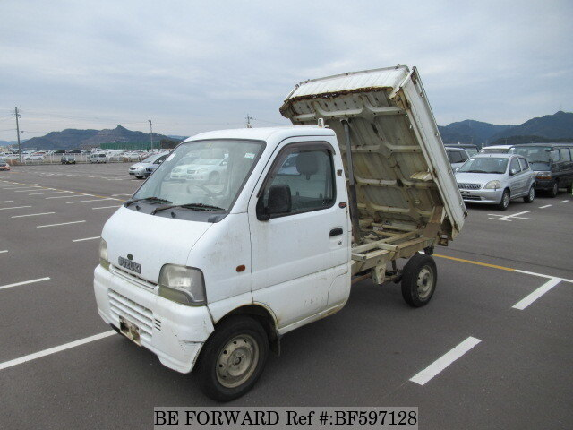 Used 2000 SUZUKI CARRY TRUCK BF597128 for Sale