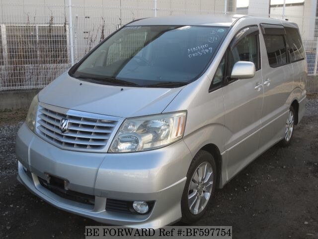 Used 2003 TOYOTA ALPHARD BF597754 for Sale