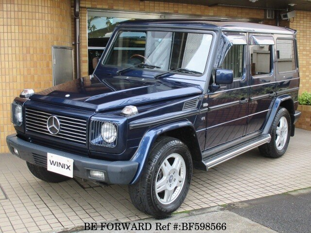 Used 2000 mercedes benz g class gf g500l for sale bf598566 for Mercedes benz g class for sale cheap