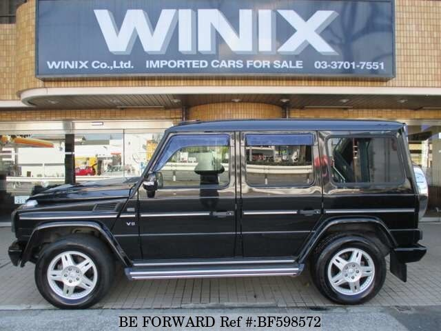 Used 2000 mercedes benz g class gf g500l for sale bf598572 for Mercedes benz g class for sale cheap