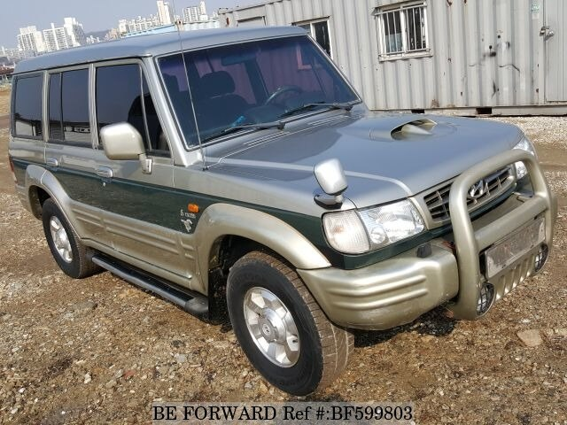 used 2003 hyundai galloper exceed for sale bf599803 be forward rh beforward jp Manual Transmission Diesel