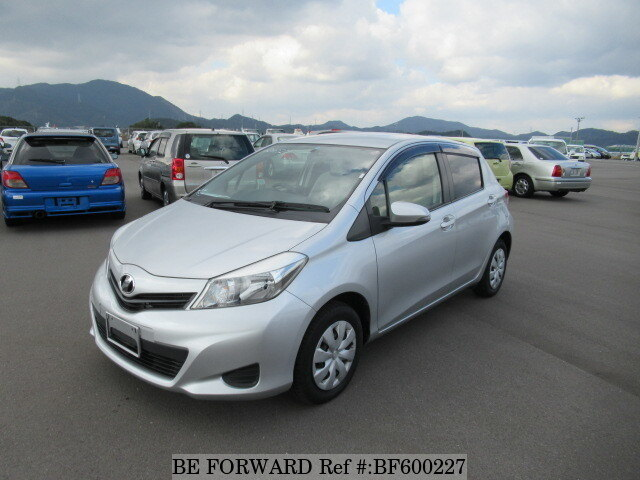 Used 2012 TOYOTA VITZ FDBANSP130 for Sale BF600227  BE FORWARD
