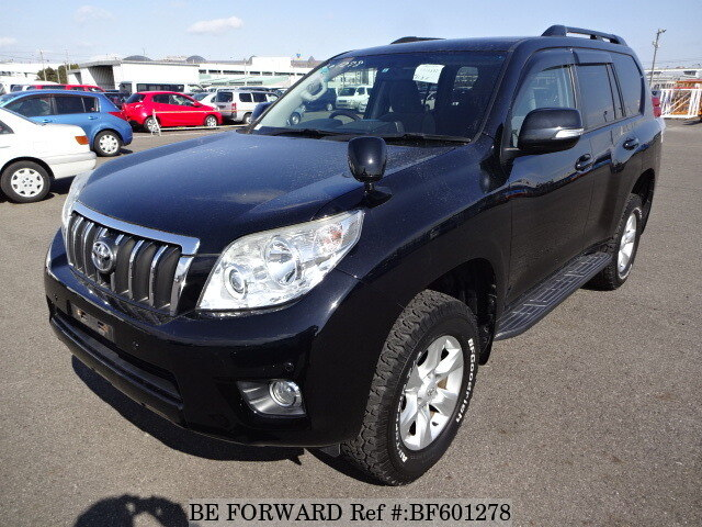 Used 2010 TOYOTA LAND CRUISER PRADO BF601278 for Sale