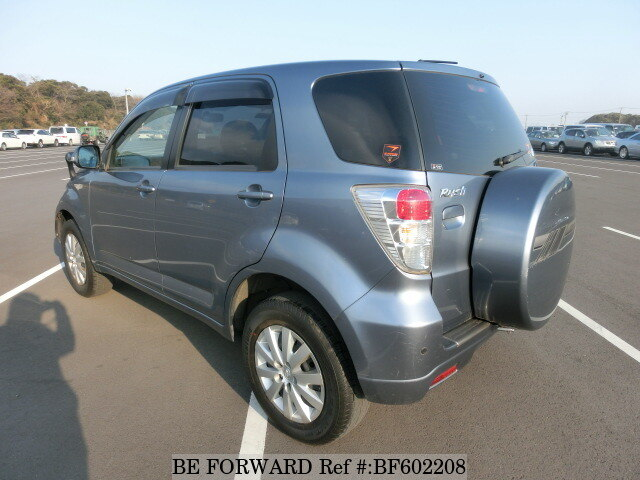 Used 2010 TOYOTA RUSH X/CBA-J210E For Sale BF602208