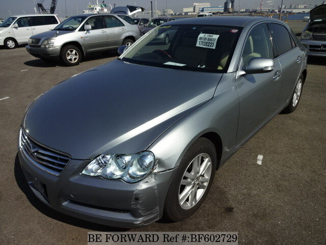 Used 2008 TOYOTA MARK X BF602729 for Sale