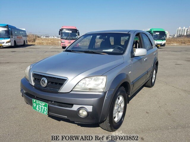 used 2003 kia sorento lx d4cb for sale bf603852 be forward. Black Bedroom Furniture Sets. Home Design Ideas