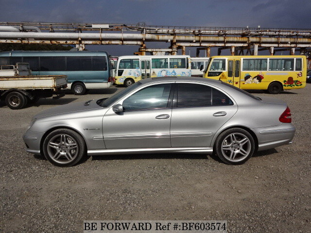 used 2003 mercedes benz e class e55 amg gh 211076 for sale bf603574 be forward. Black Bedroom Furniture Sets. Home Design Ideas