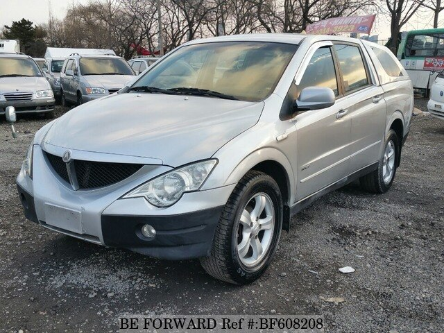 Used 2006 Ssangyong Actyon Sports For Sale Bf608208 Be Forward
