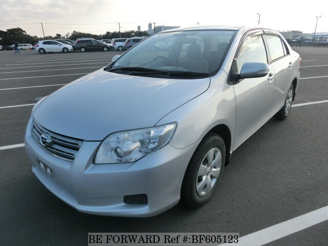 used 2008 toyota corolla axio x hid selection dba nze141 for sale bf605123 be forward. Black Bedroom Furniture Sets. Home Design Ideas