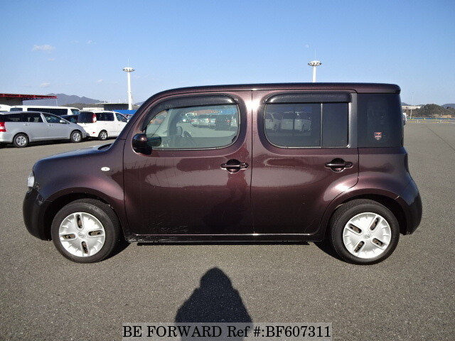 used 2010 nissan cube 15x m selection dba z12 for sale bf607311 be forward. Black Bedroom Furniture Sets. Home Design Ideas