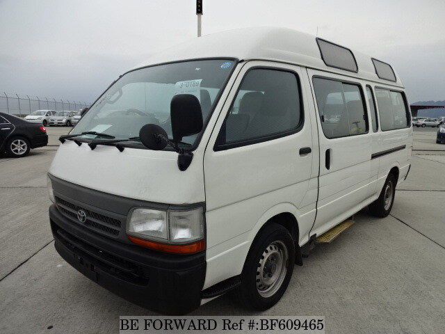 Used 2003 TOYOTA HIACE COMMUTER BF609465 for Sale