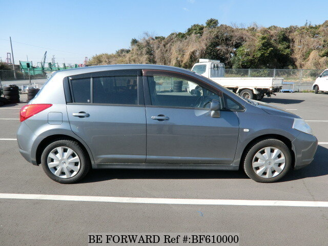 Used 2006 Nissan Tiida 18g Dba Jc11 For Sale Bf610000 Be