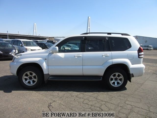 Used 2007 Toyota Land Cruiser Prado Tx Limited Cba Trj120w
