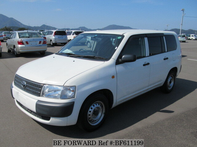 Used 2012 TOYOTA PROBOX VAN BF611199 for Sale