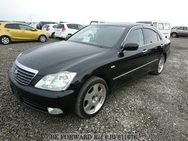 Used 2004 TOYOTA CROWN BF611676 for Sale